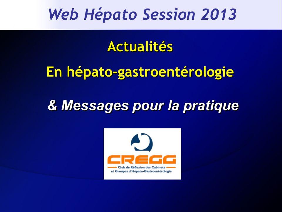 Actualités En hépato-gastroentérologie