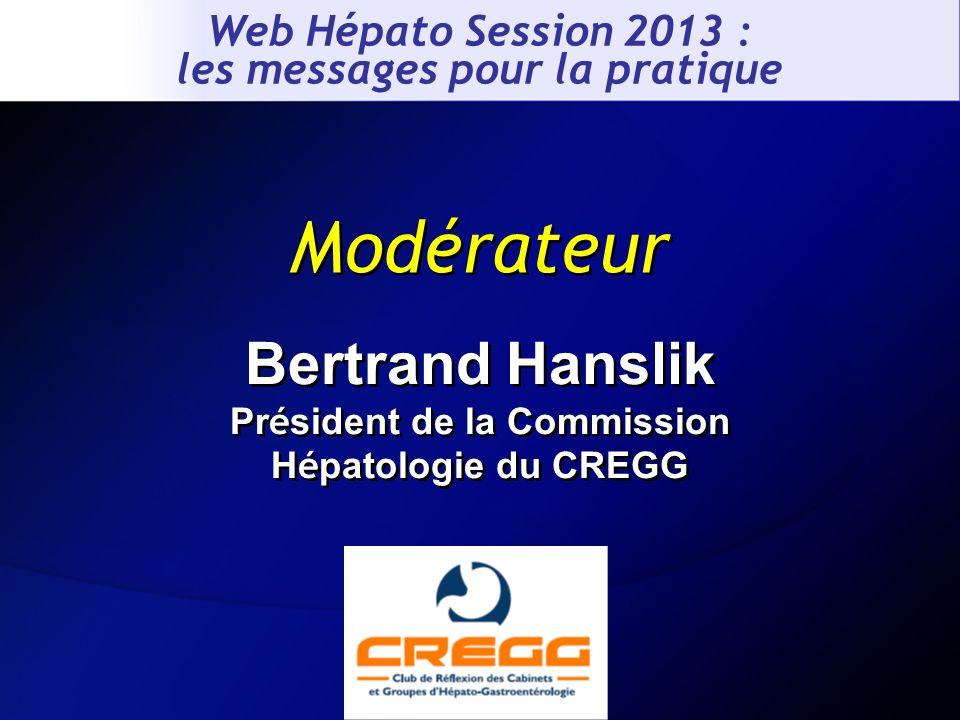 Bertrand Hanslik Président de la Commission Hépatologie du CREGG
