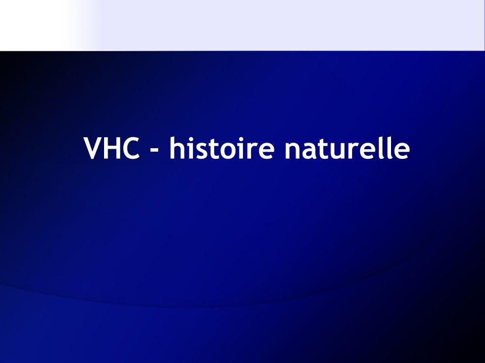 VHC - histoire naturelle