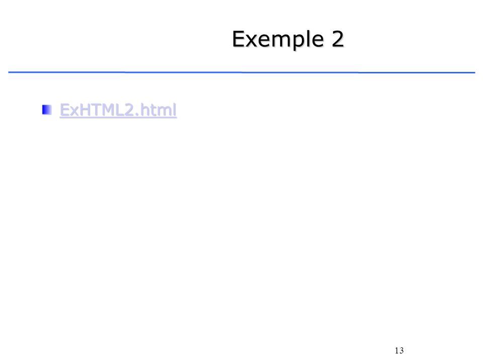 Exemple 2 ExHTML2.html