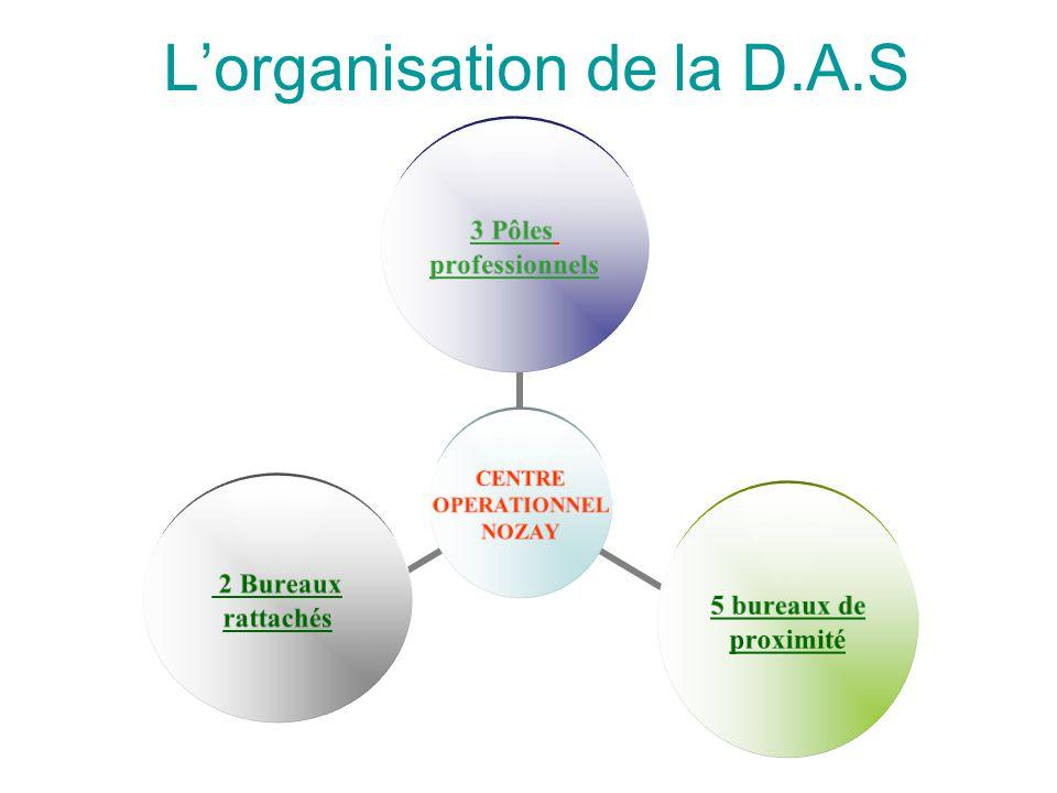L'organisation de la D.A.S