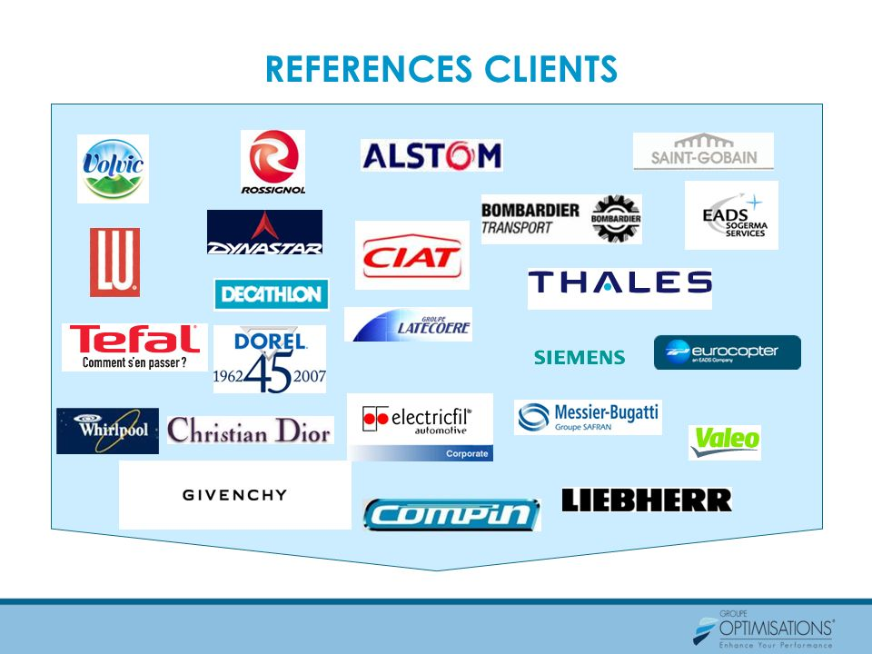 REFERENCES CLIENTS
