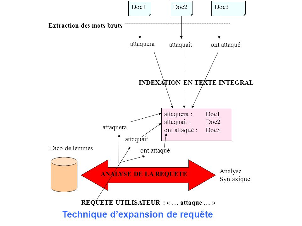 INDEXATION EN TEXTE INTEGRAL