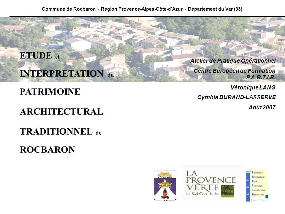 Commune de Rocbaron ~ Région Provence-Alpes-Côte-d Azur ~ Département du Var (83)