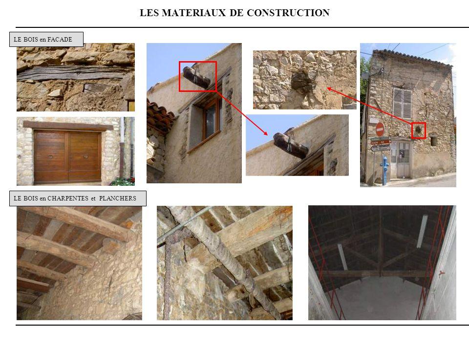 LES MATERIAUX DE CONSTRUCTION
