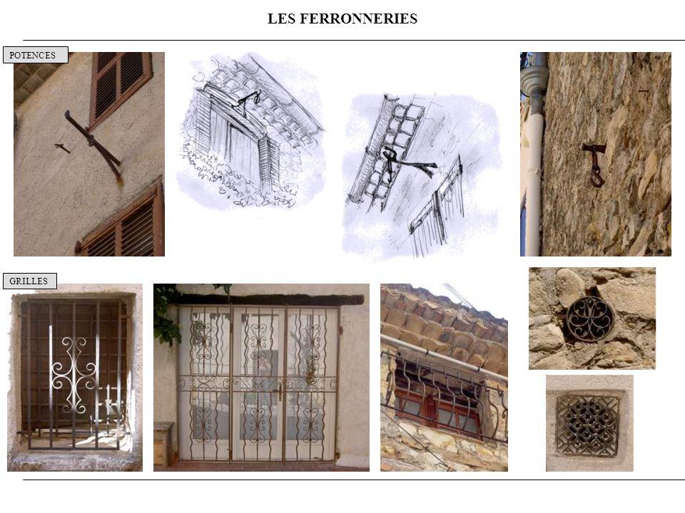 LES FERRONNERIES POTENCES GRILLES 10