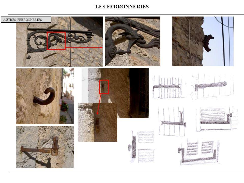 LES FERRONNERIES AUTRES FERRONNERIES 10