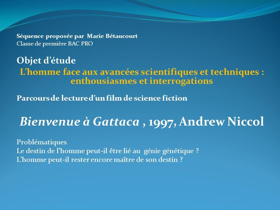 Bienvenue à Gattaca , 1997, Andrew Niccol