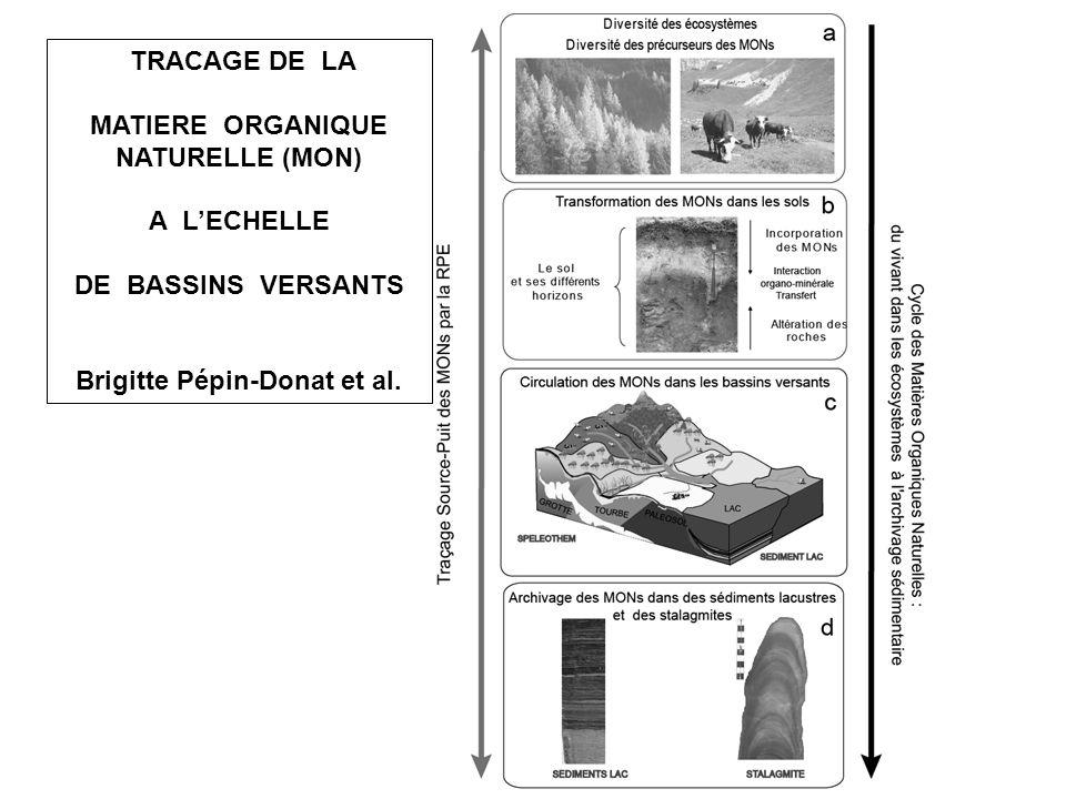 MATIERE ORGANIQUE NATURELLE (MON) Brigitte Pépin-Donat et al.