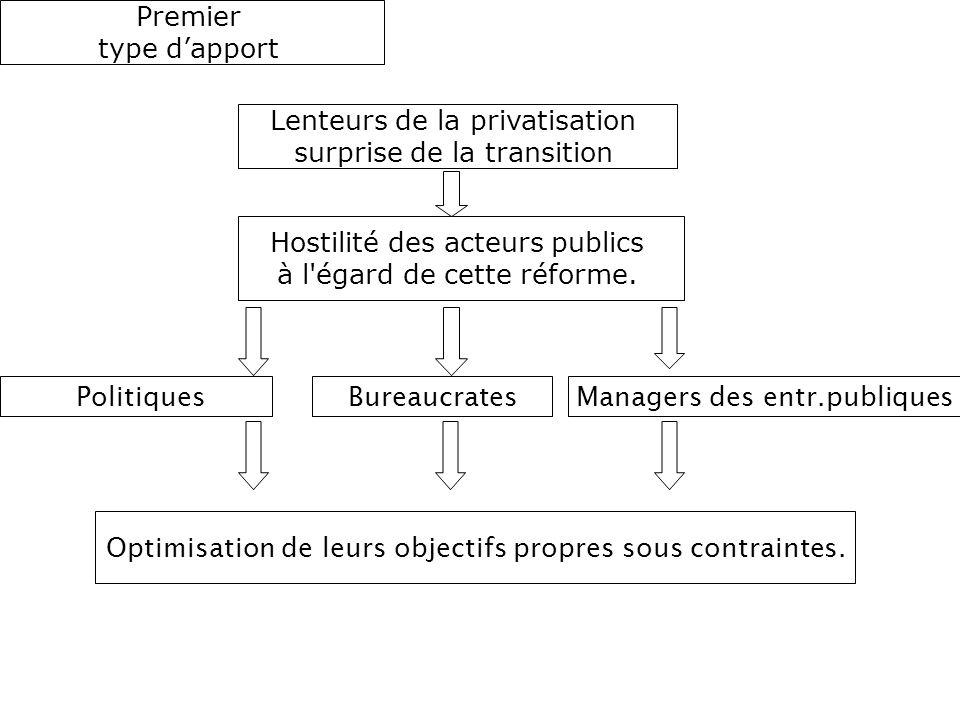 Lenteurs de la privatisation surprise de la transition