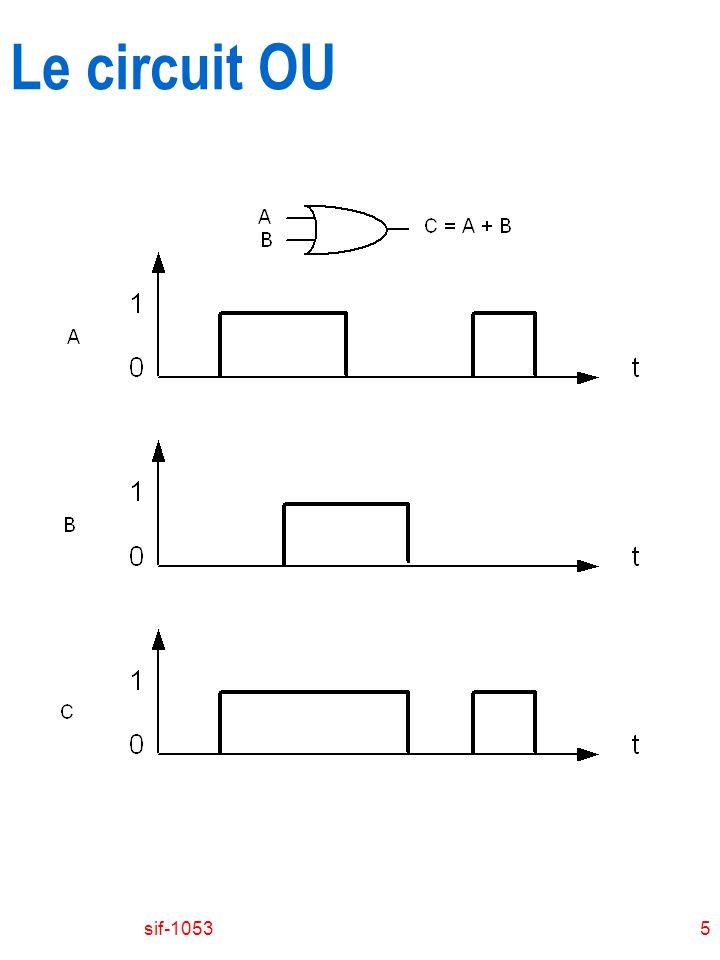Le circuit OU sif-1053