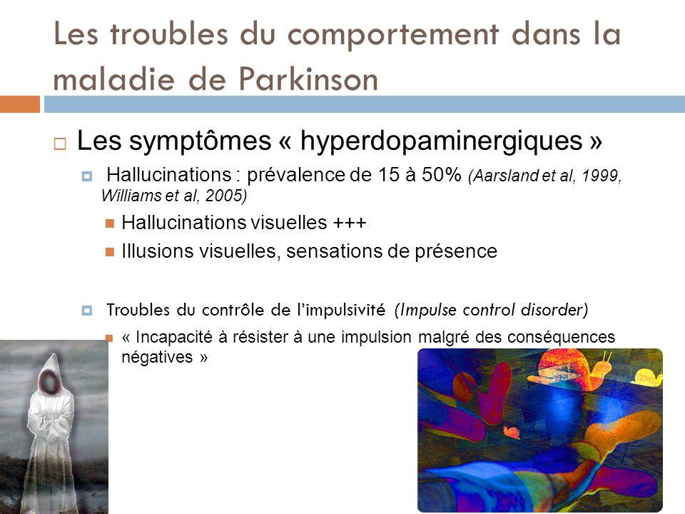 Les troubles du comportement dans la maladie de Parkinson