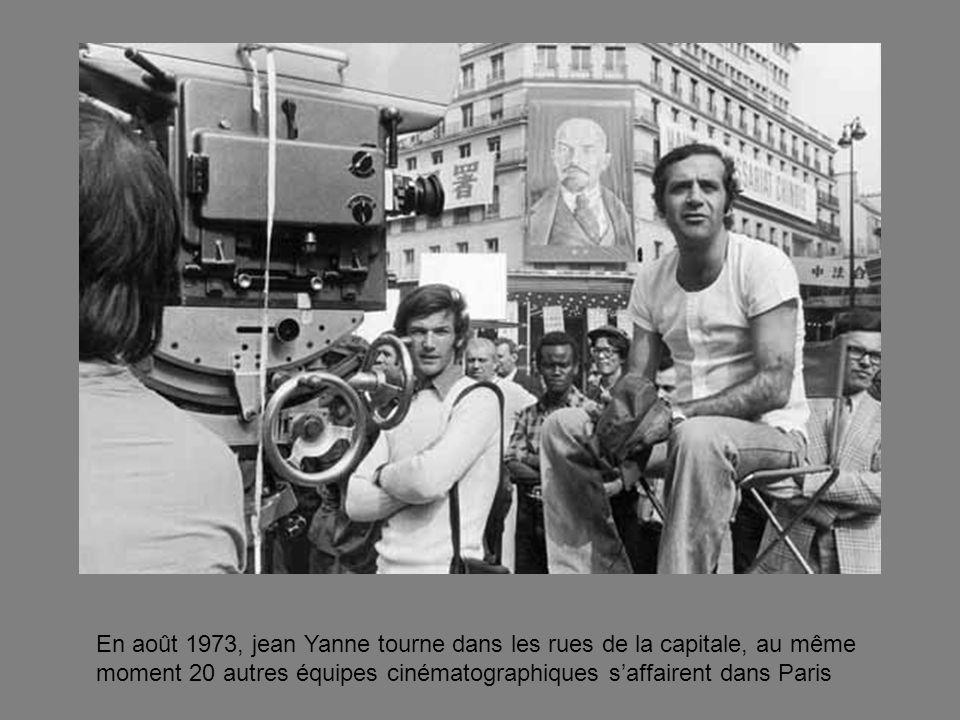 En août 1973, jean Yanne tourne dans les rues de la capitale, au même moment 20 autres équipes cinématographiques s'affairent dans Paris
