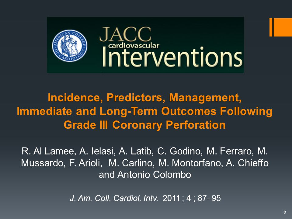J. Am. Coll. Cardiol. Intv. 2011 ; 4 ; 87- 95