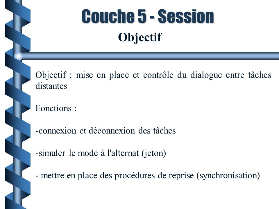 Couche 5 - Session Objectif