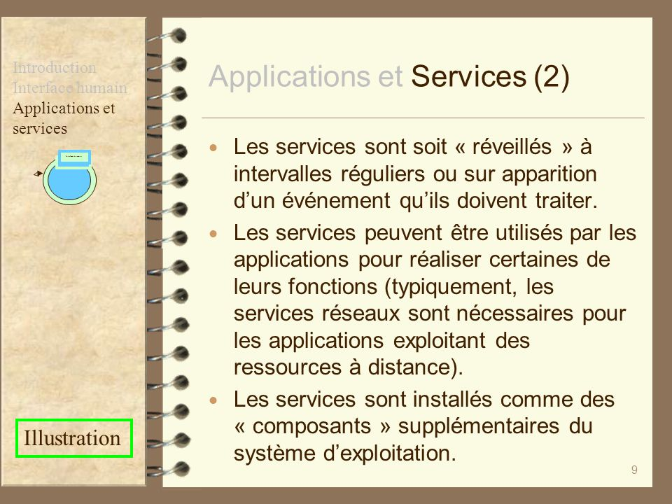 Applications et Services (2)