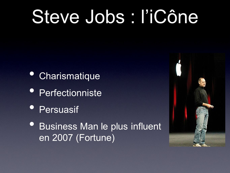 Steve Jobs : l'iCône Charismatique Perfectionniste Persuasif