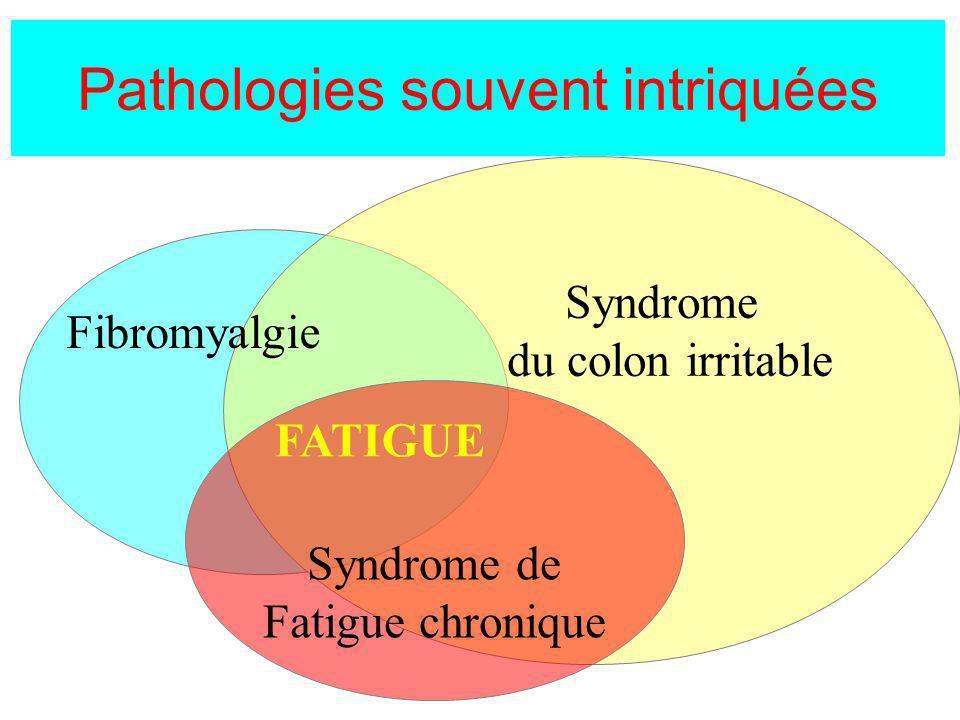 Pathologies souvent intriquées
