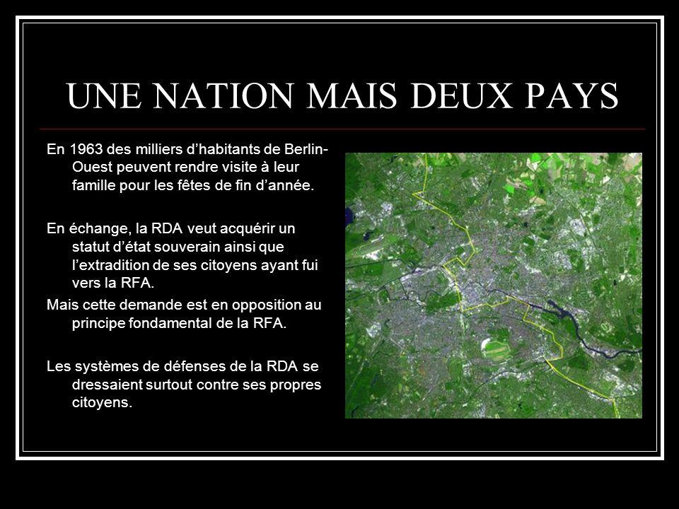 UNE NATION MAIS DEUX PAYS