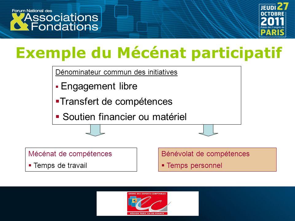 Exemple du Mécénat participatif