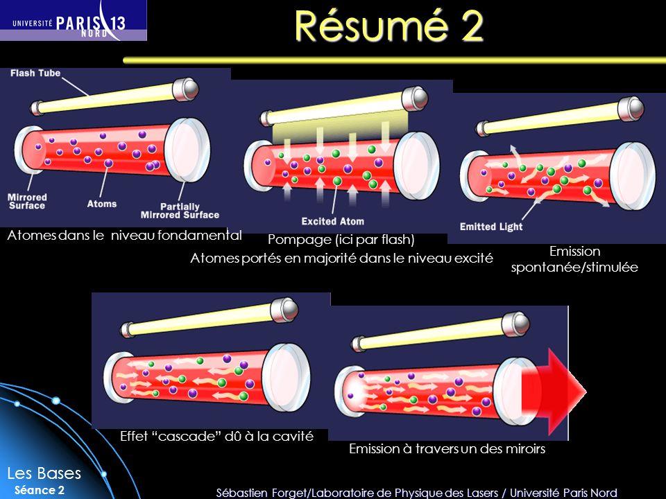 Résumé 2 Les Bases Atomes dans le niveau fondamental