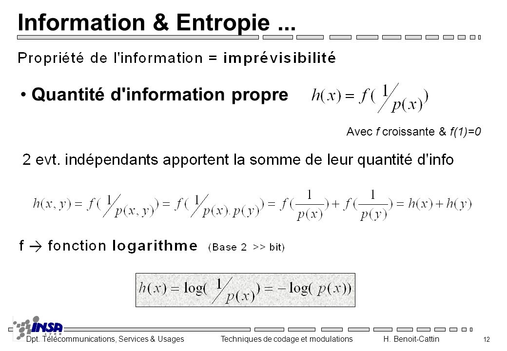 Information & Entropie ...