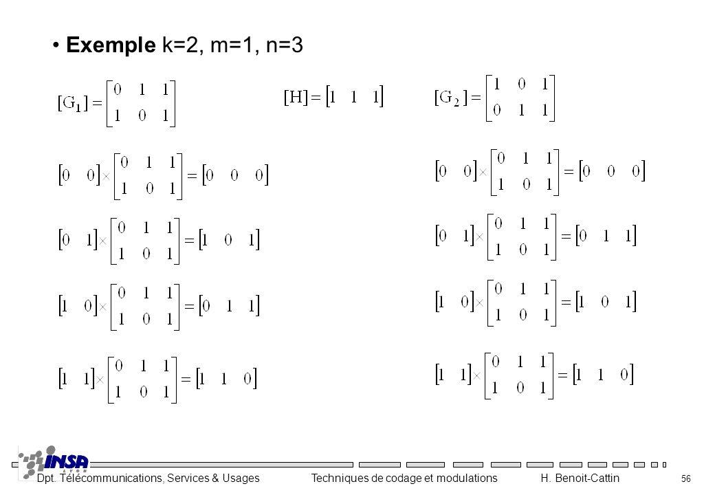 Exemple k=2, m=1, n=3