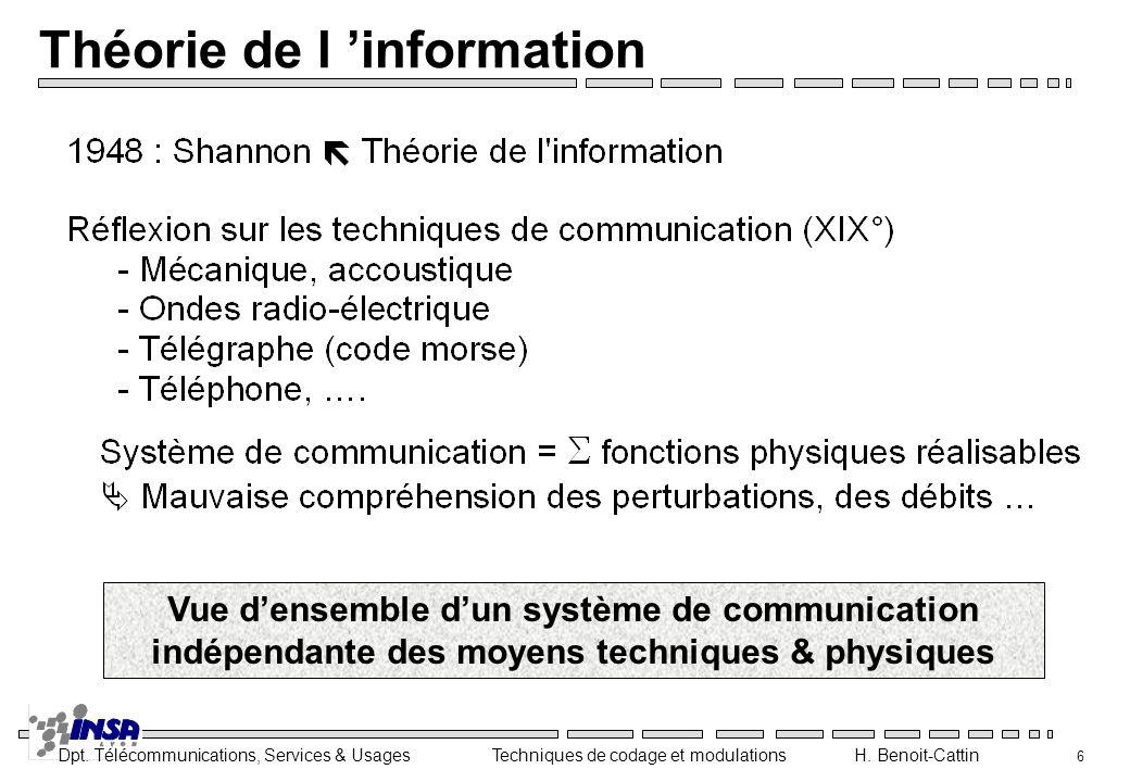 Théorie de l 'information