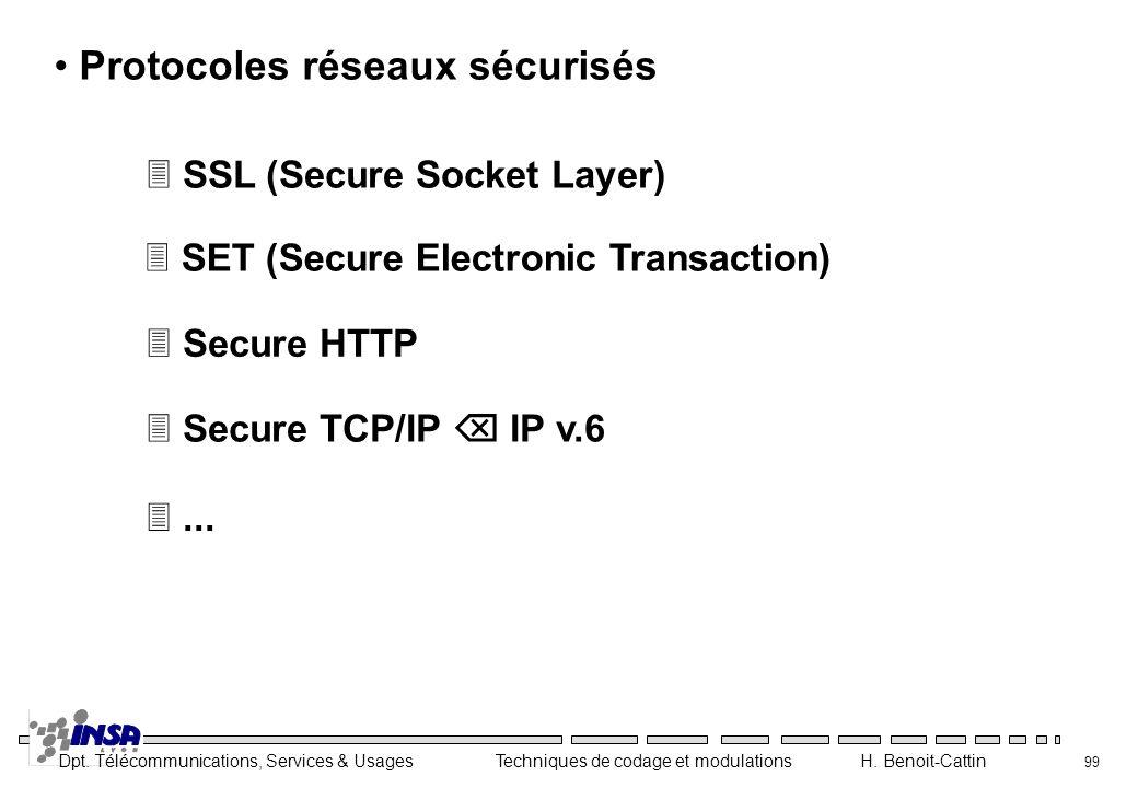 Protocoles réseaux sécurisés