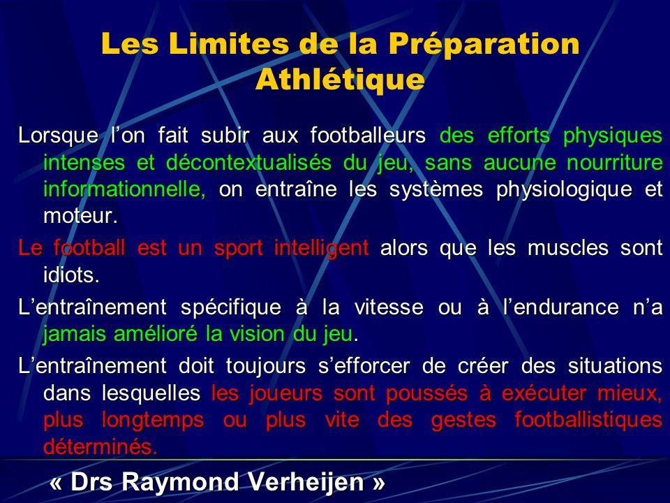 Les Limites de la Préparation Athlétique