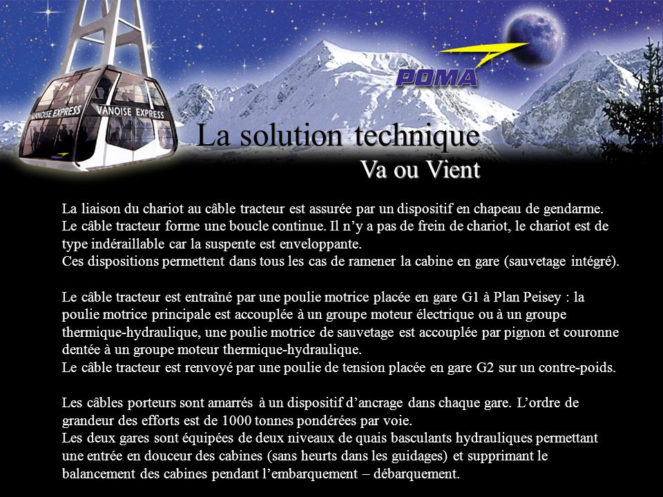 La solution technique Va ou Vient