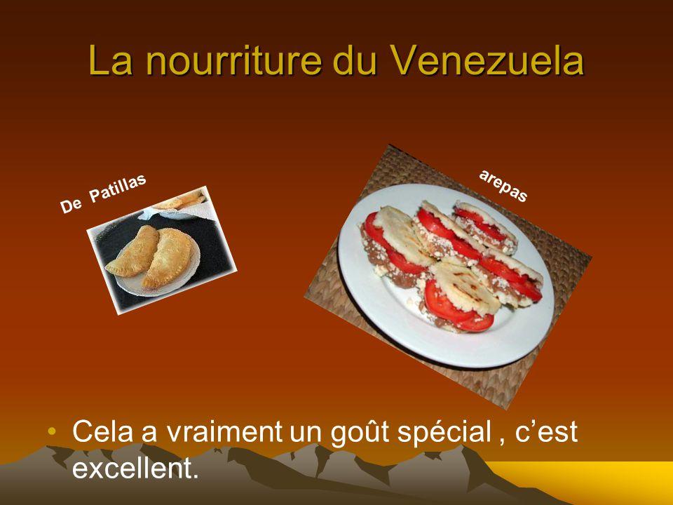 La nourriture du Venezuela