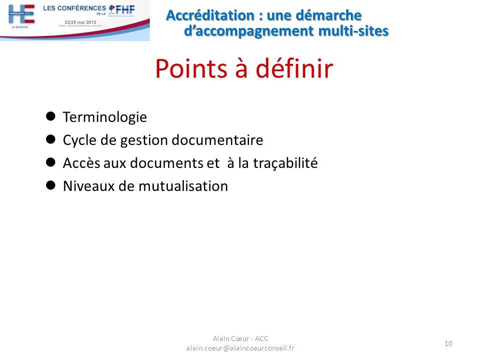 Alain Cœur - ACC alain.coeur@alaincoeurconseil.fr