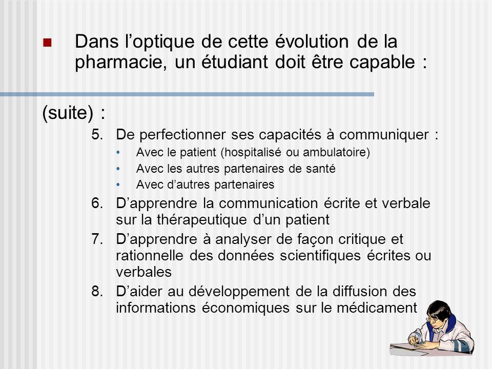 Introduction la pharmacie clinique ppt t l charger for Dans cette optique
