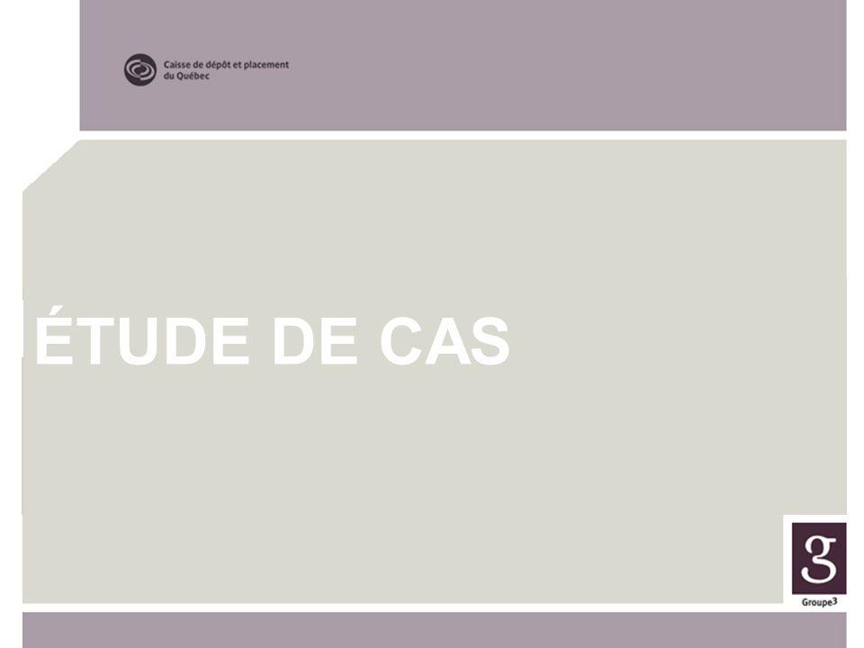 ÉTUDE DE CAS LE MESSAGE ÉTUDE DE CAS Programme de formation
