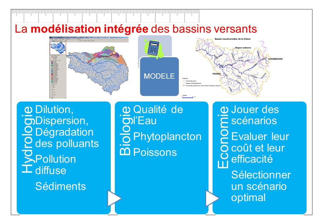 La modélisation intégrée des bassins versants