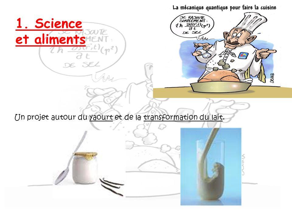Thèmes d exlortaion 1. Science et aliments.