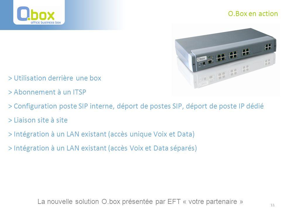 > Utilisation derrière une box > Abonnement à un ITSP