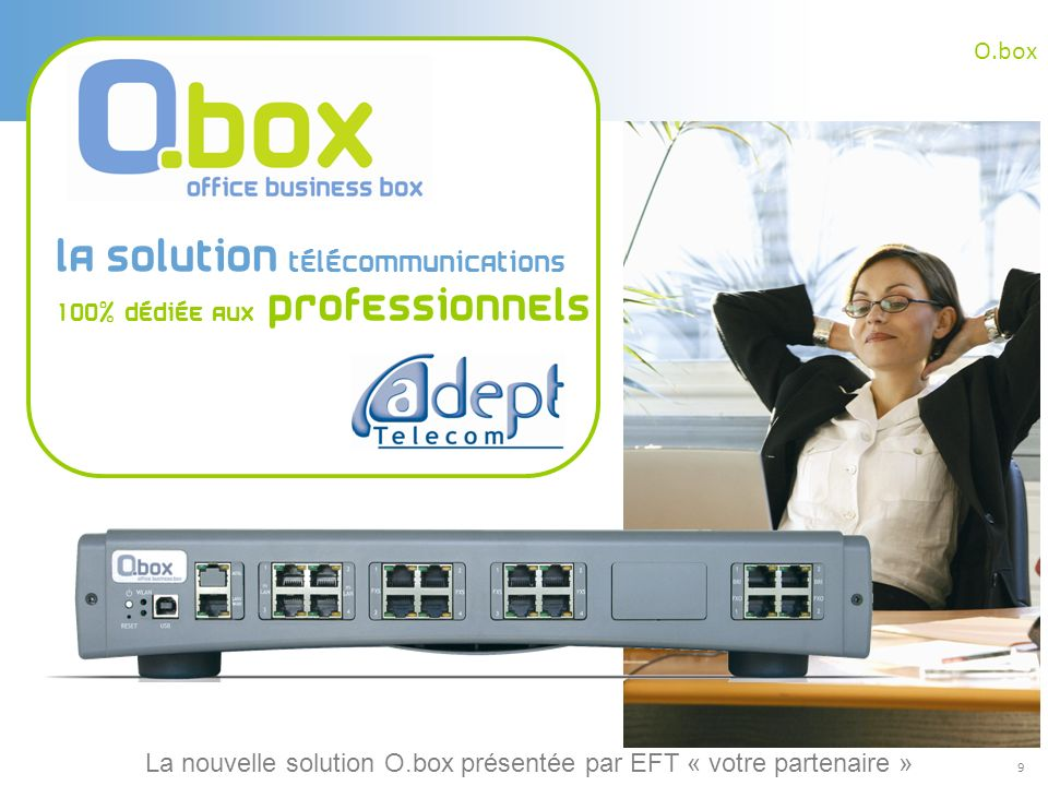 La solution télécommunications