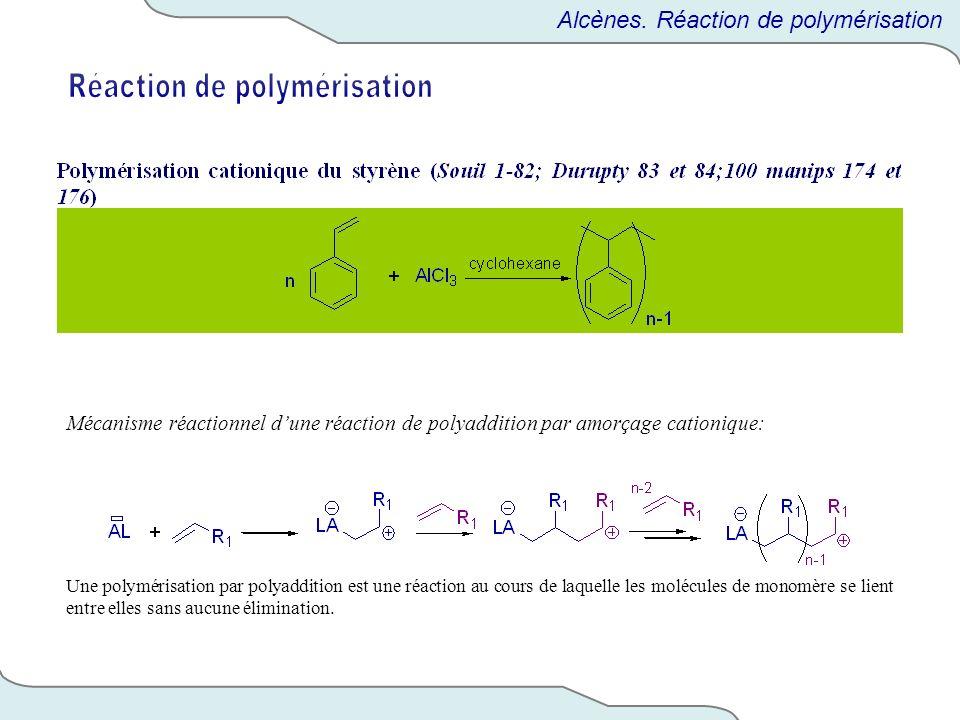 Réaction de polymérisation