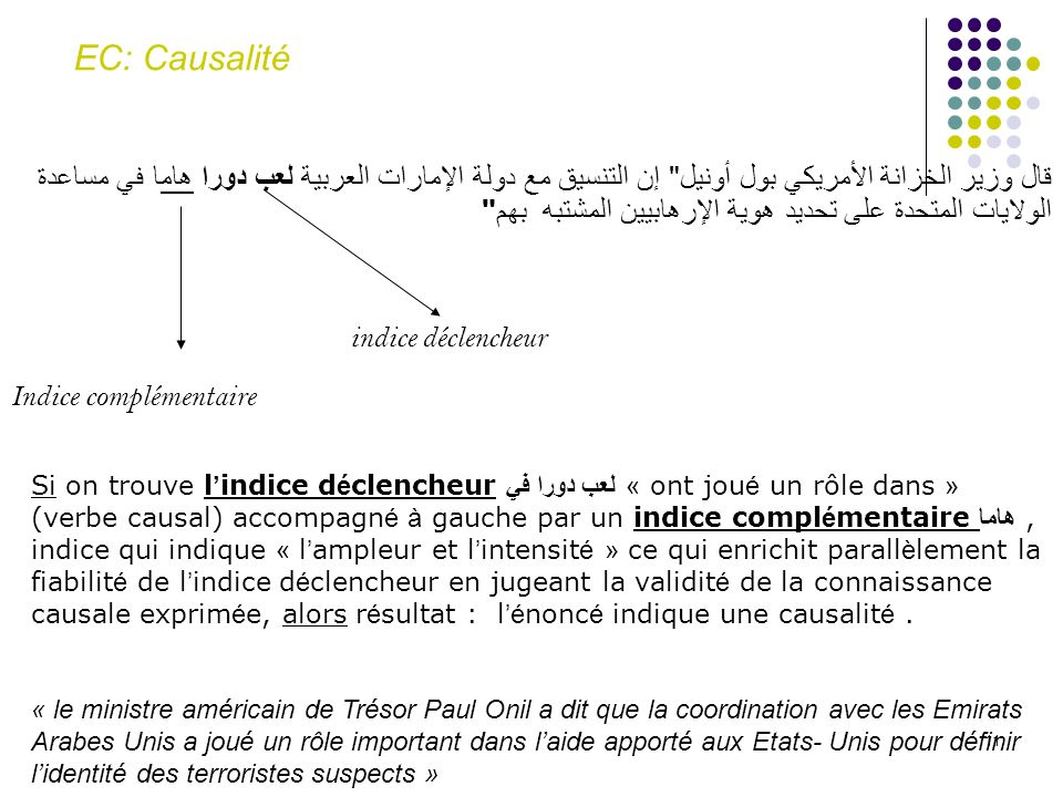 EC: Causalité