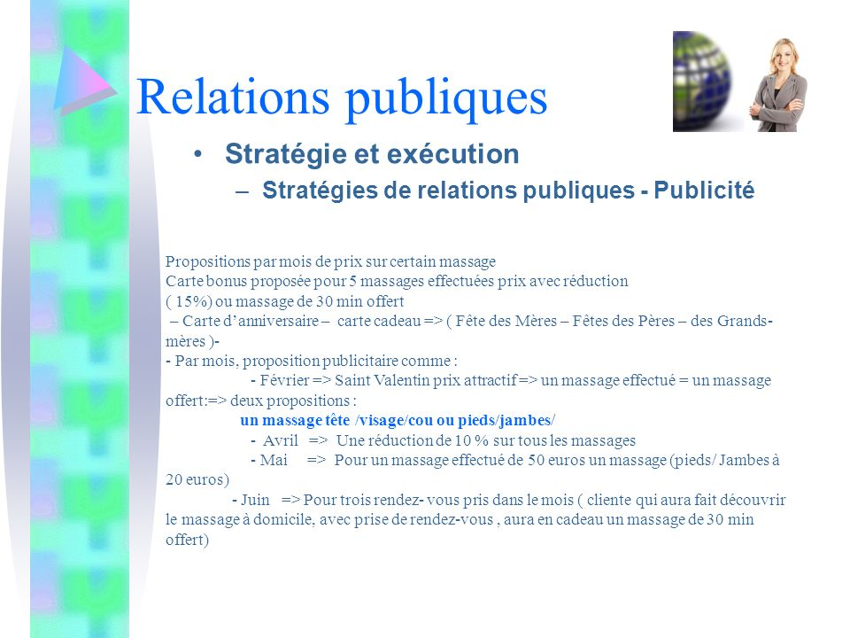 Relations publiques Stratégie et exécution