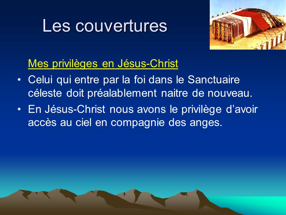 Les couvertures Mes privilèges en Jésus-Christ