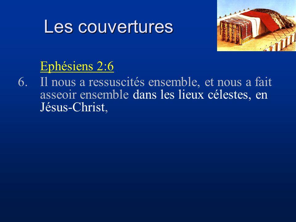 Les couvertures Ephésiens 2:6