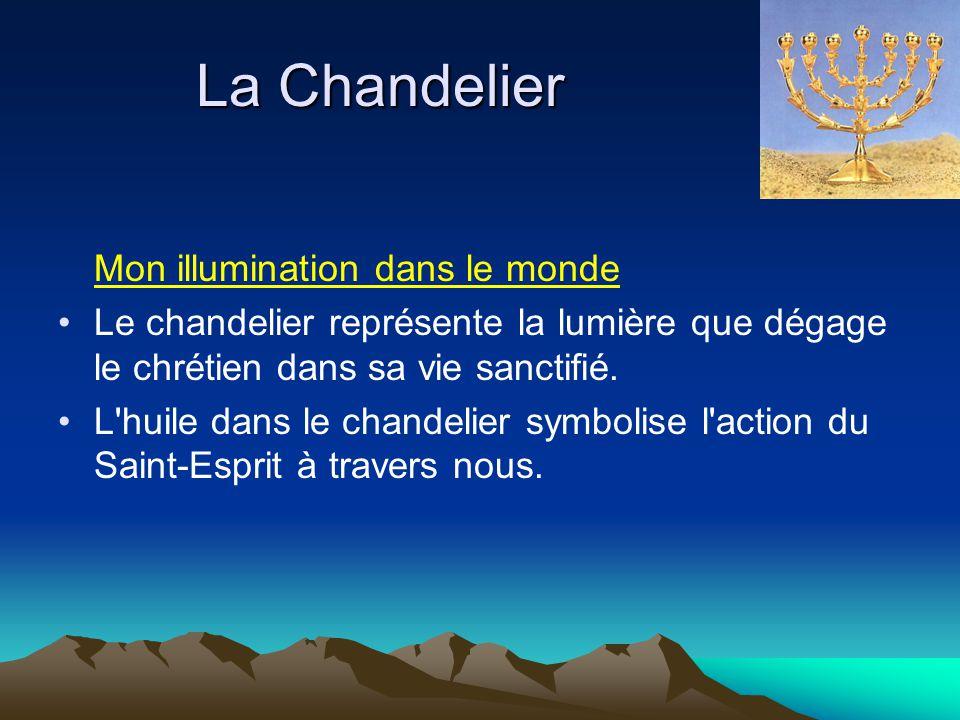 La Chandelier Mon illumination dans le monde