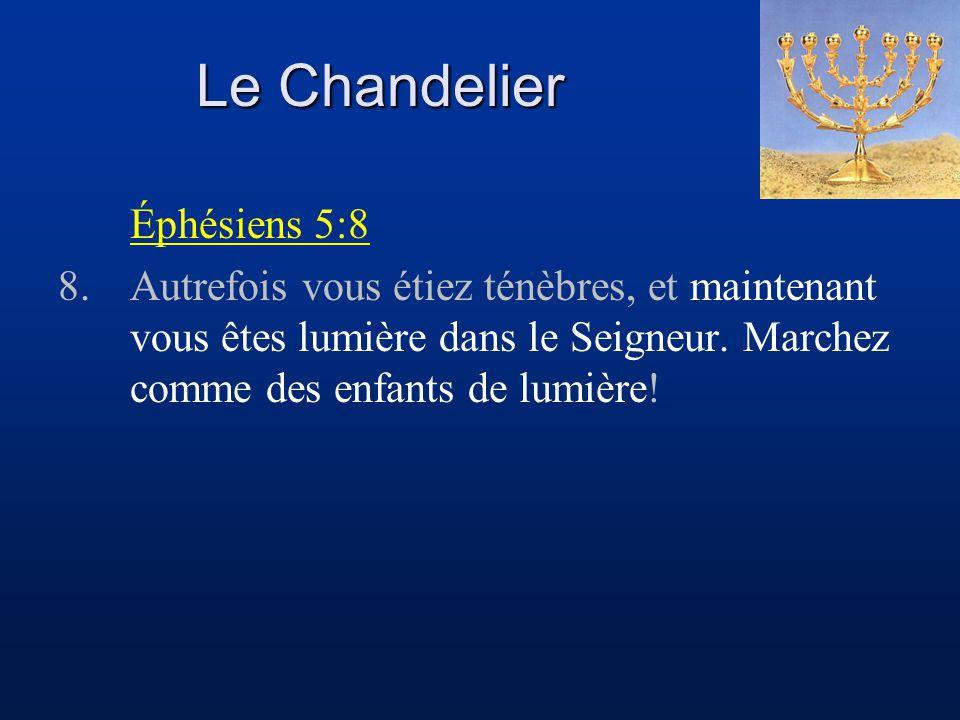 Le Chandelier Éphésiens 5:8