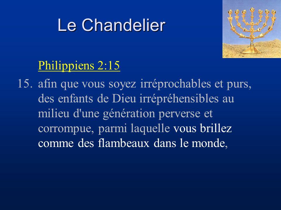 Le Chandelier Philippiens 2:15