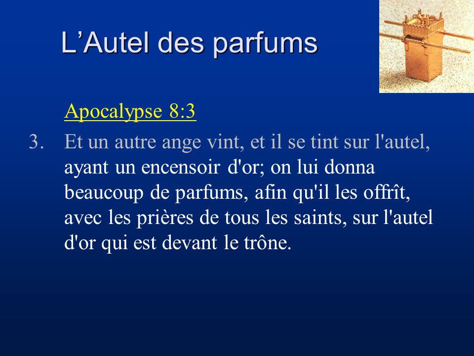 L'Autel des parfums Apocalypse 8:3