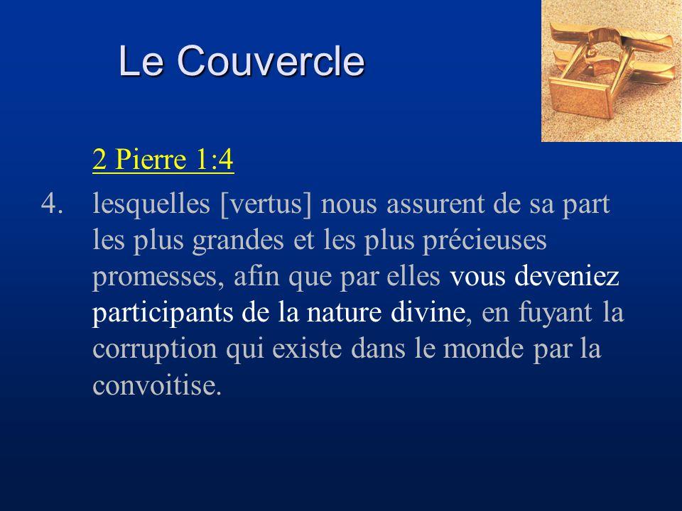 Le Couvercle 2 Pierre 1:4.