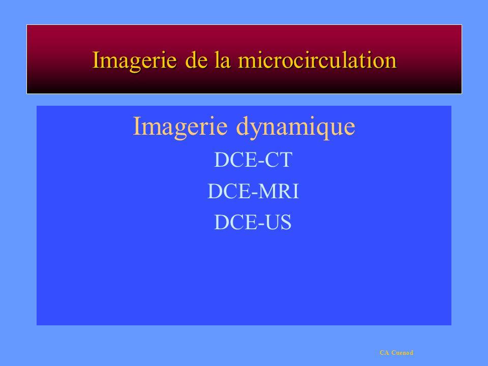 Imagerie de la microcirculation